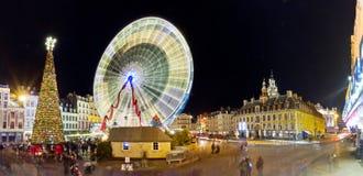 Grande roue à Lille à Noël Royalty Free Stock Image