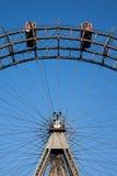 Grande roue à Vienne, parc de Prater Photos stock