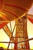 Grande roue au lever de soleil Image libre de droits
