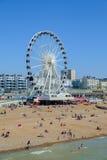 Grande roue Brighton R-U Photographie stock libre de droits