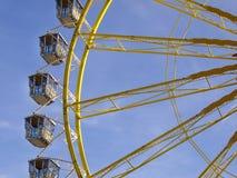 Grande roue chez l'Oktoberfest, Munich, Allemagne Photo stock