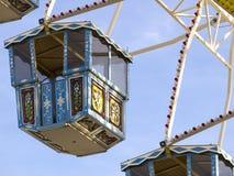 Grande roue chez l'Oktoberfest, Munich, Allemagne Image stock