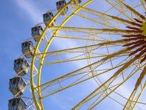 Grande roue chez l'Oktoberfest, Munich, Allemagne Photos stock