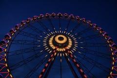 Grande roue chez Oktoberfest, Allemagne Images stock