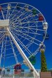 Grande roue, colline de Koktobe, Almaty, Kazakhstan Images libres de droits