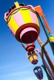 Grande roue colorée dans le ciel Photos libres de droits