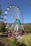 Grande roue dans le Borjomi georgia Photographie stock libre de droits