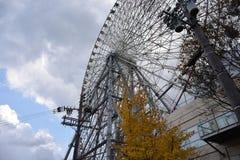 Grande roue dans le port d'Osaka Photos libres de droits