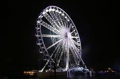 Grande roue de Ferris photo stock
