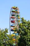 Grande roue en parc vert image libre de droits