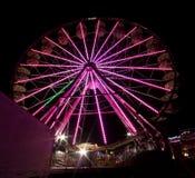 Grande roue la nuit Photos libres de droits