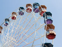 Grande roue. Personne Photo stock