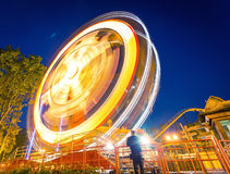 Grande roue rapide Photo stock