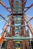 Grande roue sur le fond de ciel Images libres de droits