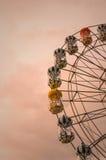 Grande roue traitée Photographie stock libre de droits