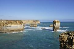 Grande route d'océan Images libres de droits