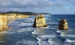 Grande route d'océan image libre de droits