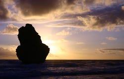 Grande route 2 d'océan images libres de droits