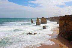 Grande route d'océan, Australie Images libres de droits