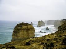 Grande route d'océan - les 12 apôtres Photo stock