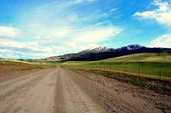 Grande route de ciel photographie stock libre de droits