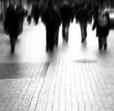 grande rue occupée de ville Image libre de droits