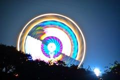 Grande ruota al festival dell'isola di Wight Fotografia Stock Libera da Diritti