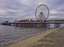 Grande ruota di Blackpool Fotografia Stock