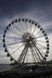 Grande ruota retroilluminata, Brighton fotografie stock libere da diritti