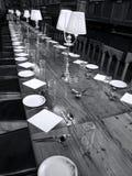 Grande sala da pranzo dell'università di Oxford dell'istituto universitario della chiesa di Cristo Fotografia Stock Libera da Diritti