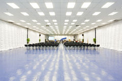 Grande sala de conferências bonita Fotografia de Stock