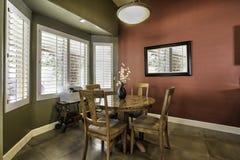Grande sala de jantar nova com assoalho de telha Fotos de Stock Royalty Free