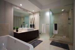 Grande salle de bains ouverte Image libre de droits