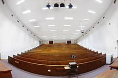 Grande salle de classe d'université Photo stock