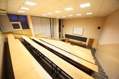 Grande salle de classe, hall de conférence d'université Images libres de droits