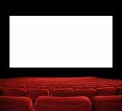 Grande schermo del cinema Fotografia Stock