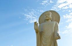 Grande scultura del buddha Immagine Stock