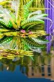 Grande scultura di vetro Immagini Stock