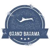 Grande segno di logo di Bahama Fotografia Stock