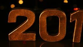 Grande segno 2015 per il nuovo anno video d archivio