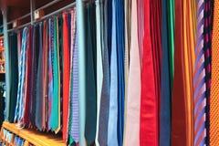 Grande seleção das gravatas Imagens de Stock Royalty Free