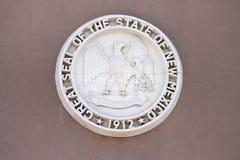 Grande selo do estado de New mexico foto de stock royalty free