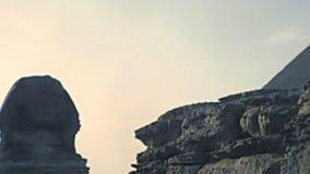 Grande Sfinge di Giza archivistica archivi video