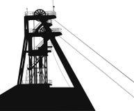 Uma torre para o vetor carbonoso ilustração do vetor