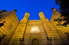 Grande sinagoga Immagine Stock Libera da Diritti
