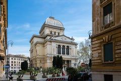 Grande sinagoga de Roma Imagens de Stock