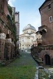 Grande sinagoga de Roma Imagem de Stock
