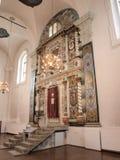 Grande sinagoga, odawa del 'di WÅ, Polonia fotografie stock libere da diritti