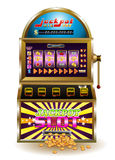 Grande slot machine di posta Fotografia Stock