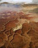 Grande sorgente di acqua calda prismatica immagine stock